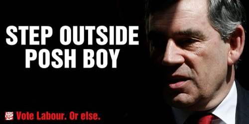 Step outside posh boy poster