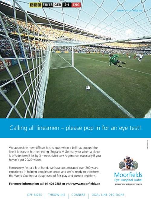 Moorfields advertisement