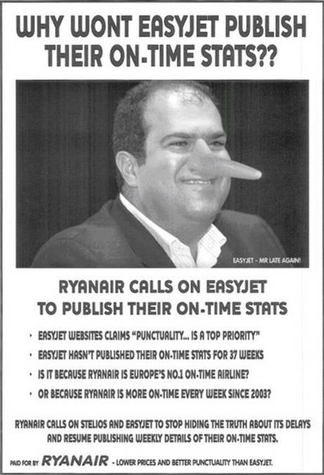 Ryan air ad