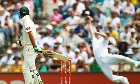Paul Collingwood catching the ball