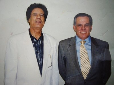 Moammar Ghadafi and his plastic surgeon