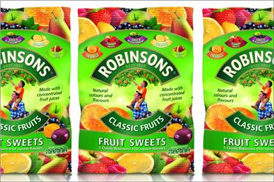 Robinson fruit drink