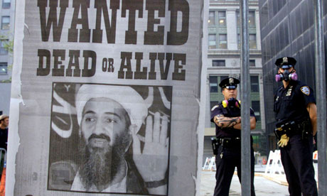 Wanted poster Osama Bin Laden