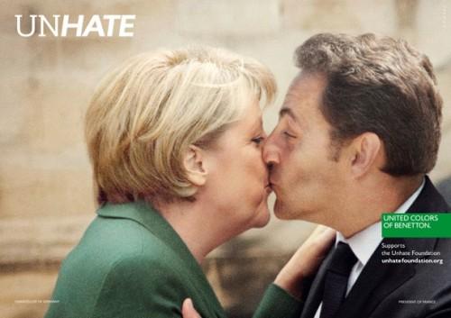 Merkel and Sarkosi